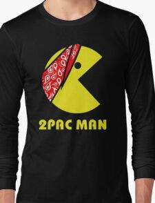 PAC MAN 2PAC Long Sleeve T-Shirt