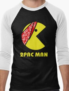 PAC MAN 2PAC Men's Baseball ¾ T-Shirt