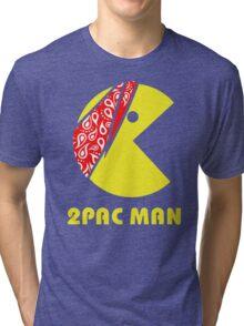 PAC MAN 2PAC Tri-blend T-Shirt