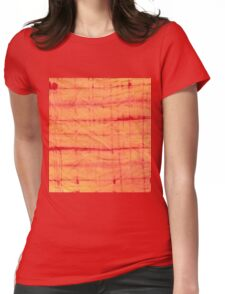 tye n dye tiger print Womens Fitted T-Shirt