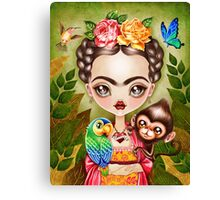Frida Querida Canvas Print