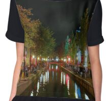 Red Light District, Amsterdam Chiffon Top