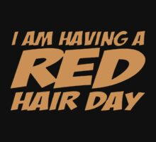 RED GINGER HAIR DAY Kids Tee