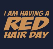 RED GINGER HAIR DAY Baby Tee