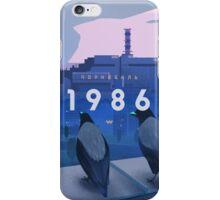 Chernobyl 1986 iPhone Case/Skin