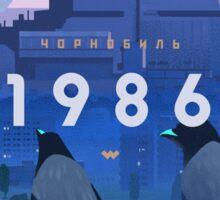 Chernobyl 1986 Sticker