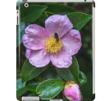 Pink Camellia with a little insect iPad Case/Skin