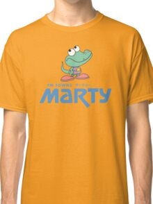 FM Towns Marty Logo Classic T-Shirt