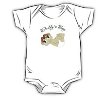 Daddy's Boy Red Hair and Green Eyes One Piece - Short Sleeve
