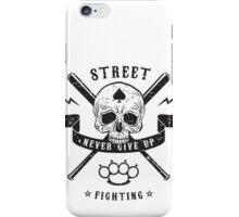 Street fighting emblem iPhone Case/Skin