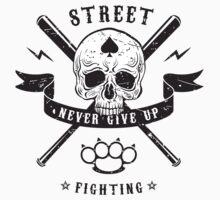 Street fighting emblem Kids Tee