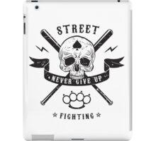 Street fighting emblem iPad Case/Skin