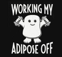 Working Adipose off!  Kids Tee