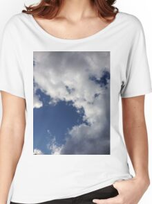 Clouds in the sky Women's Relaxed Fit T-Shirt