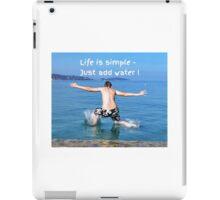 Simple iPad Case/Skin