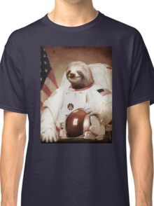 Spaceman Sloth Astronaut Classic T-Shirt