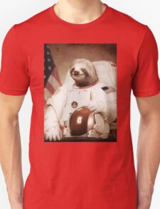 Spaceman Sloth Astronaut Unisex T-Shirt