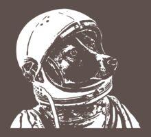 Space Dog Laika One Piece - Short Sleeve
