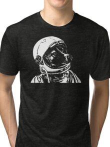 Space Dog Laika Tri-blend T-Shirt