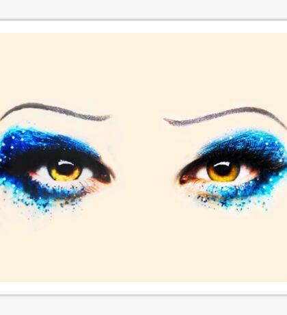 Darren is Hedwig - Eyes Sticker