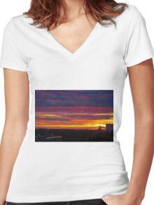Show Stopper Women's Fitted V-Neck T-Shirt
