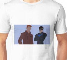 Wally West and Dick Grayson Minimalism Unisex T-Shirt