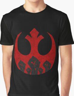 Rebel Alliance logo- Fist Of Fury Graphic T-Shirt