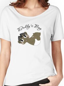 Daddy's Boy Black Hair and Brown Eyes Women's Relaxed Fit T-Shirt
