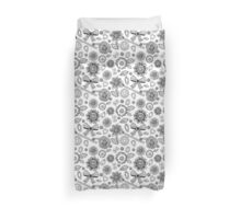 Black and withe lace Duvet Cover