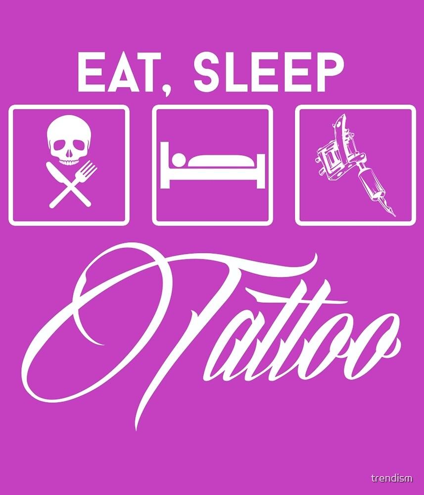 eat sleep race tattoo - photo #37