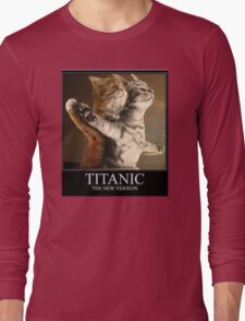 Titanic Cats Long Sleeve T-Shirt