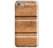 Plastic coating that mimics the natural wood iPhone Case/Skin