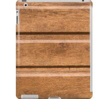 Plastic coating that mimics the natural wood iPad Case/Skin