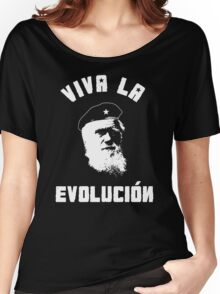 VIVA LA EVOLUCION EVOLUTION Women's Relaxed Fit T-Shirt