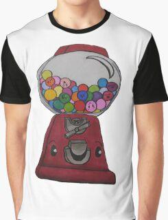 Happy Gum Machine Graphic T-Shirt