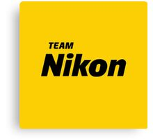 Team Nikon Canvas Print