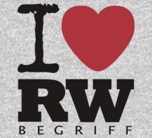 RAUH-WELT BEGRIFF : I LOVE Baby Tee
