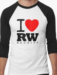 RAUH-WELT BEGRIFF : I LOVE Men's Baseball ¾ T-Shirt