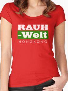 RAUH-WELT BEGRIFF : hongkong Women's Fitted Scoop T-Shirt