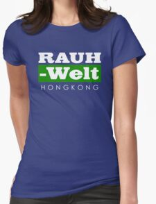 RAUH-WELT BEGRIFF : hongkong Womens Fitted T-Shirt