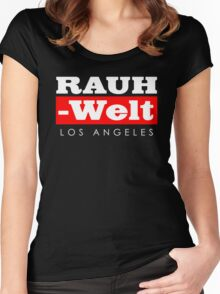 RAUH-WELT BEGRIFF : Los Angeles Women's Fitted Scoop T-Shirt