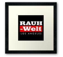 RAUH-WELT BEGRIFF : Los Angeles Framed Print