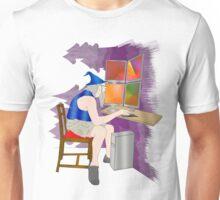 computer wizard   Unisex T-Shirt