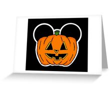 Halloween Ears Greeting Card