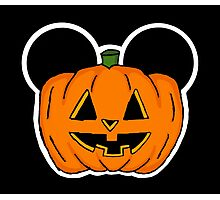 Halloween Ears Photographic Print