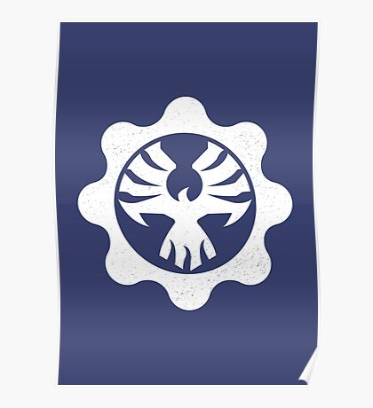 Gears of War 4 - Cog Emblem Poster