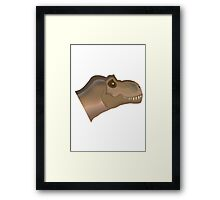Johnny the T-Rex Framed Print