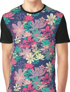 Colorful Garden Graphic T-Shirt