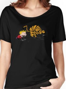 Calvin And Hobbes : Get Set, Ready, Go ... Women's Relaxed Fit T-Shirt