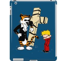Calvin And Hobbes : Detective iPad Case/Skin
